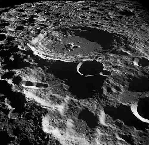 Photo of Lunar Craters